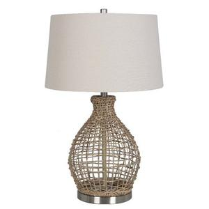 Jute Table Lamp