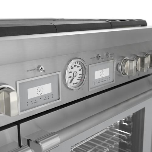Dual Fuel Professional Range 48'' Pro Grand® Commercial Depth PRD486WLGU