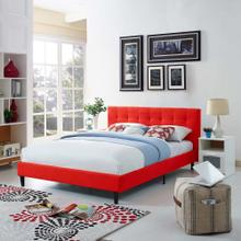 Linnea Full Bed in Atomic Red