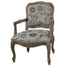 Hillcrest Rustic Frame & Pattern Chair