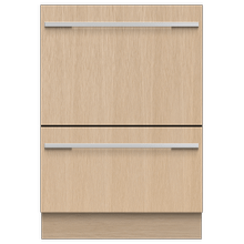 """See Details - Integrated Double DishDrawer"""" Dishwasher, Tall, Sanitize"""