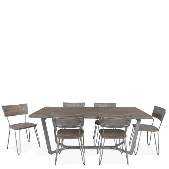 Riverside - Waverly - Side Chair - Sandblasted Gray Finish