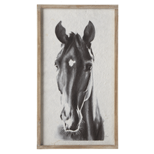View Product - Framed Horse Wall Decor