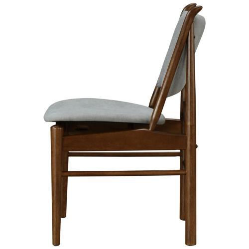 1320007501 In By New Pacific Direct In Stillwater Ok Wembley Kd Fabric Chair Dark Walnut Frame Studio Gray