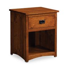 View Product - San Miguel Nightstand with Opening - QuickShip