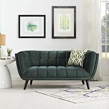 Bestow Performance Velvet Loveseat in Green