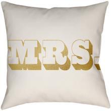 """Mr & Mrs MRSS-002 14""""H x 22""""W"""