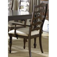 View Product - Ladder Back Arm Chair