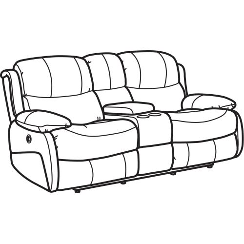 Product Image - Amsterdam Leather Power Reclining Loveseat with Console