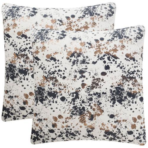 Bess Pillow - Splattered Pewter