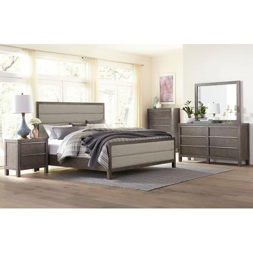 Melbourne Heights 6-Drawer Dresser, Grey