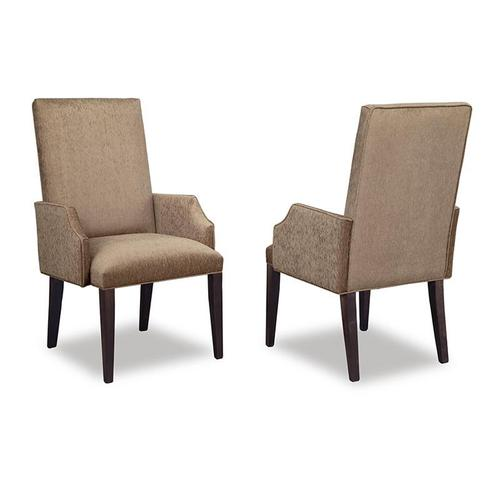 - Cumberland Upholstered Arm Chair in Leather