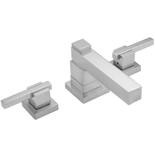 Satin Brass - CUBIX® Faucet Double Stack with CUBIX® Lever Handles - 1.2 GPM