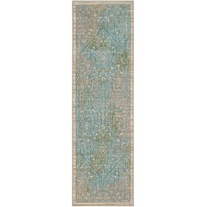 "Meraki Chimera Lime 2' 4""x7' 10"" Runner"