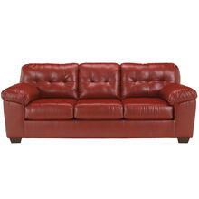 Signature Design by Ashley Alliston Sofa in Salsa Faux Leather [FSD-2399SOF-RED-GG]