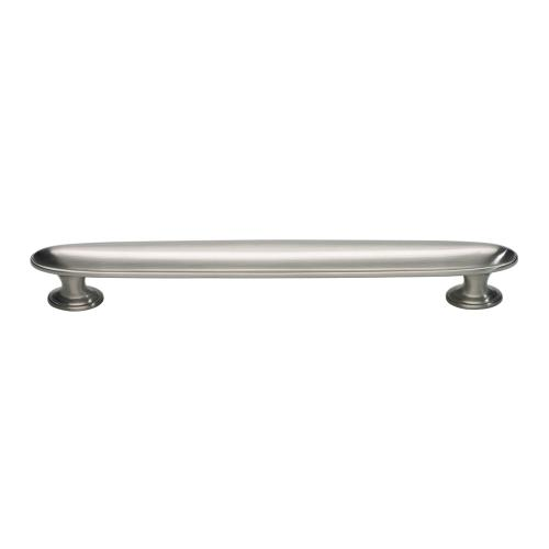Austen Oval Pull 6 5/16 Inch (c-c) - Brushed Nickel