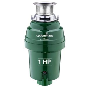 Cyclonehaus® high efficiency garbage disposer with a solid brass flange and quiet operation. Product Image