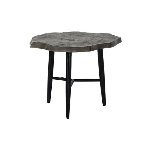 """Castelle - 23"""" Nature's Wood Side Table"""