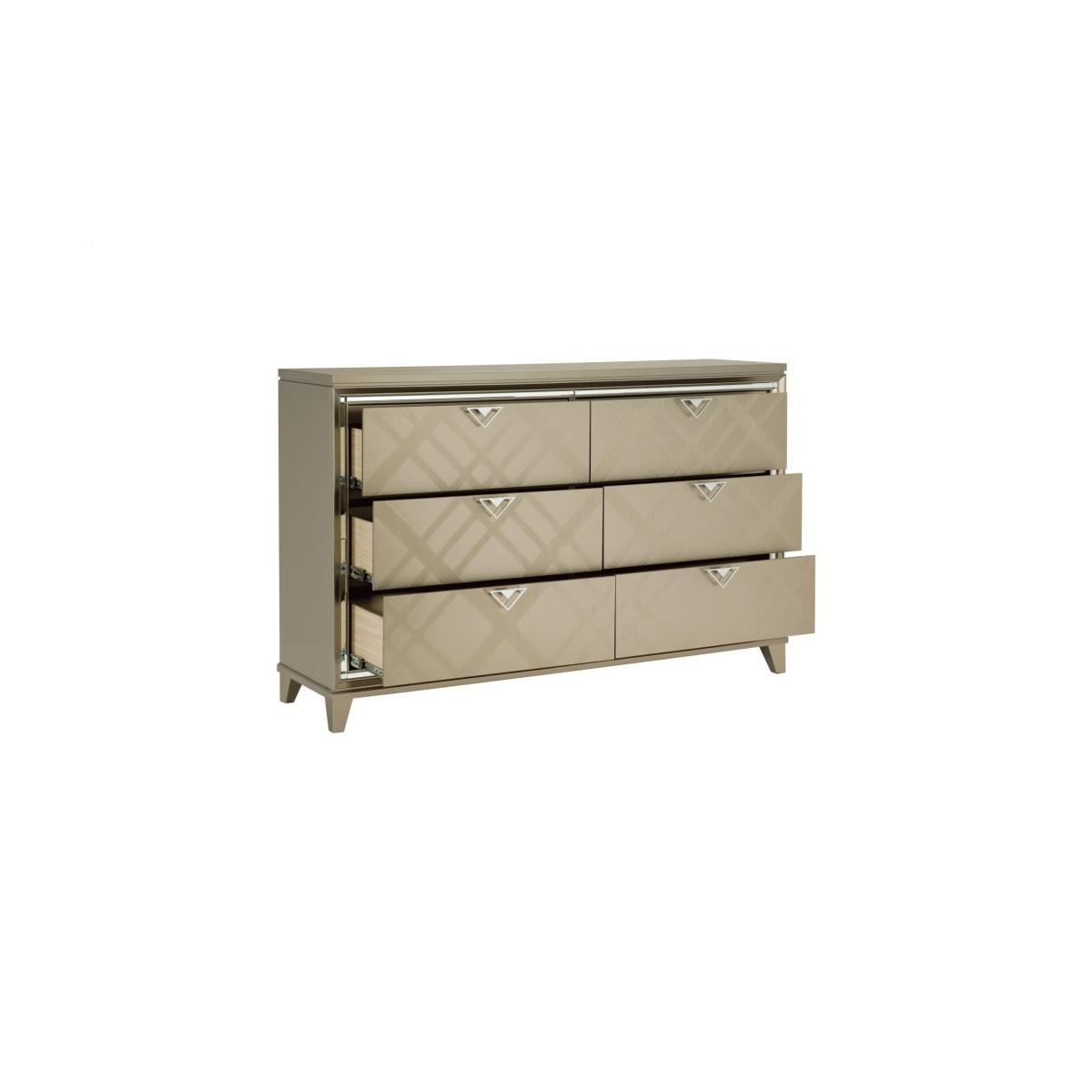 Dresser with Hidden Jewelry Drawers