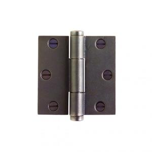 "Butt Hinge - 3 1/2"" x 3 1/2"" Silicon Bronze Brushed Product Image"