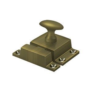 """Deltana - Cabinet Lock, 1-1/2"""" x 1-3/4"""" - Antique Brass"""