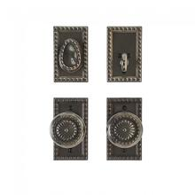"""View Product - Corbel Rectangular Entry Set - 2 1/2"""" x 4 1/2"""" Silicon Bronze Brushed"""