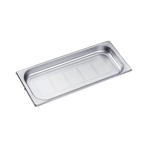 DGGL 20 Perforated steam oven pan For blanching or cooking vegetables, fish, meat and potatoes and much more