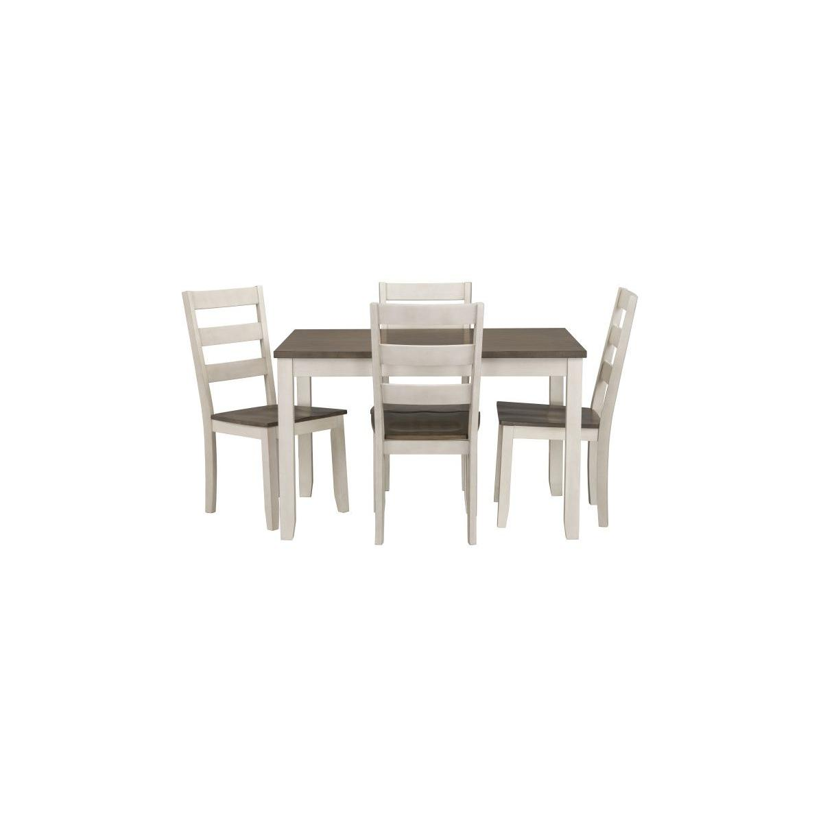 Hamilton Dining Table 4 Chairs