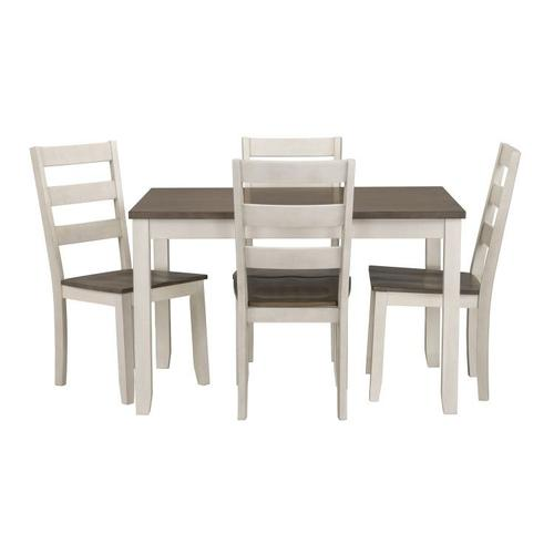 Standard Furniture - Hamilton Dining Table 4 Chairs