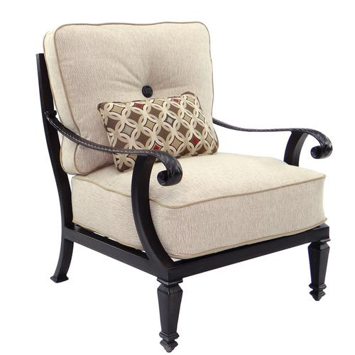 Castelle - Bellagio Cushioned Lounge Chair