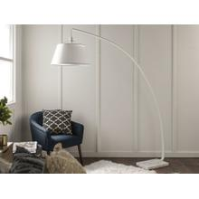 Flex Arch Floor Lamp - White
