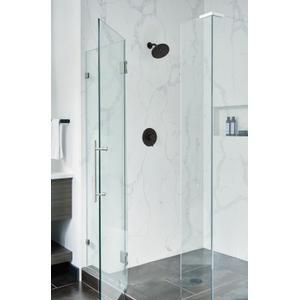 Align matte black posi-temp® shower only