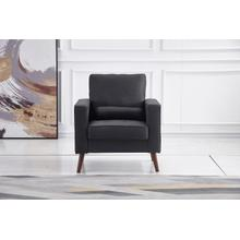 See Details - 8112 DARK GRAY Linen Stationary Chair