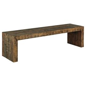 Sommerford Large Dining Room Bench Brown