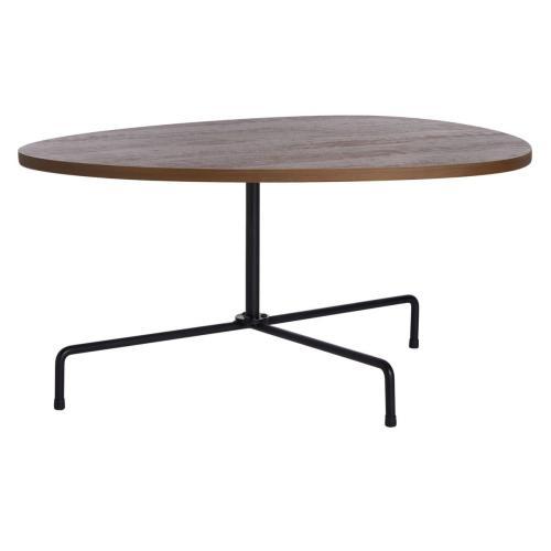 Safavieh - Berlin Tripod Coffee Table - Walnut / Black