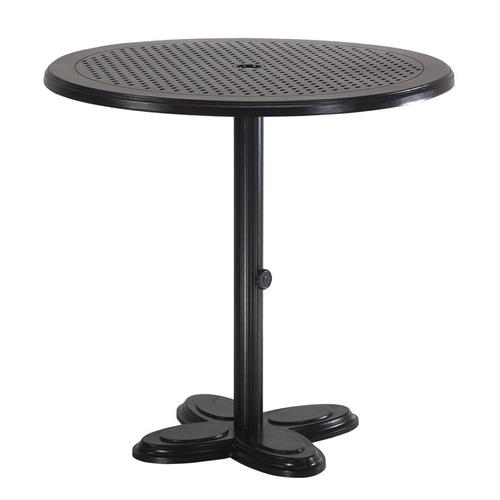 """Gensun Casual Living - Lotus Pedestal Table Pole For 36"""" Balcony / Gathering Height Table with Lotus Lotus Pedestal Table Base"""
