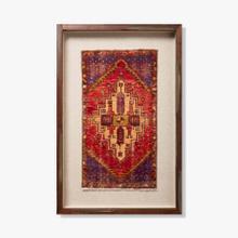 0351180023 Vintage Turkish Rug Wall Art