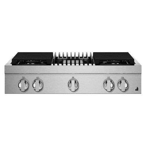 """36"""" NOIR™ Gas Professional-Style Rangetop with Gas Grill"""
