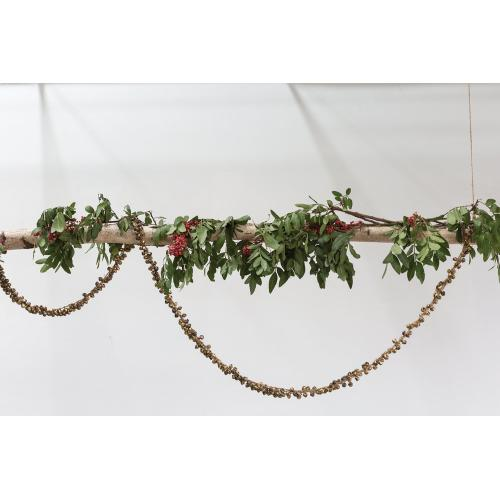 "84""L Sleigh Bells Collection (Garland Option)"