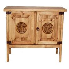See Details - 2 Door Night Stand W/ Star (with Star)