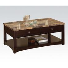 See Details - Faux M. Coffee Table W/lift