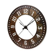 """See Details - Newcastle 56.5"""" Giant Oversize Industrial Wall Clock"""