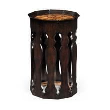 Moorish lamp table (Ebonised)