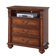 Barkley Square Media Chest Oak Product Image