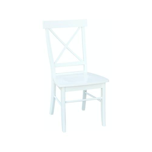 X-Back Chair in Pure White