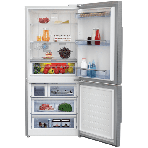 "30"" Counter Depth Bottom Freezer Refrigerator with Ice Maker"