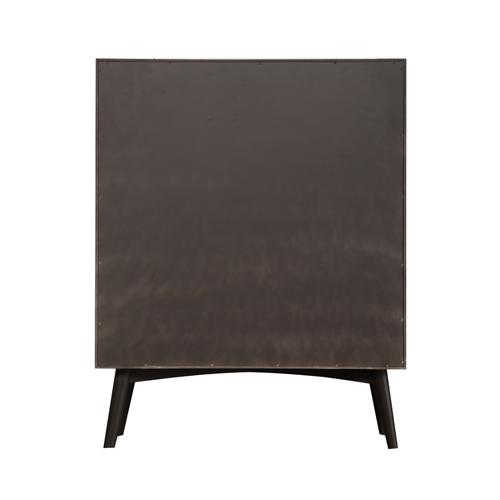 Emerald Home Home Decor 4 Drawer Chest-charcoal B351-05gry