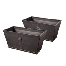 Lilac - 2 pc Planter Set
