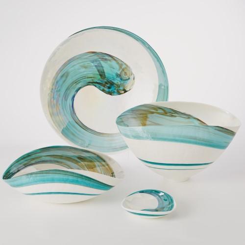 Aqua Swirl Charger