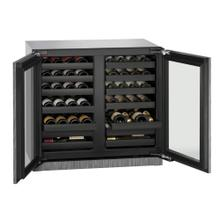 "36"" Wine Captain ® Model Integrated Frame Double Doors"